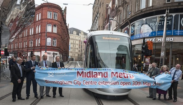 Midland Metro open to New Street Station