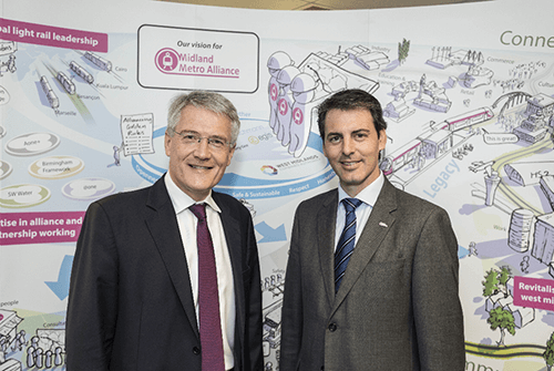 Transport Minister visits Midland Metro Alliance