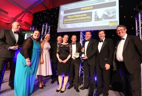 Midland Metro Project of the year winner